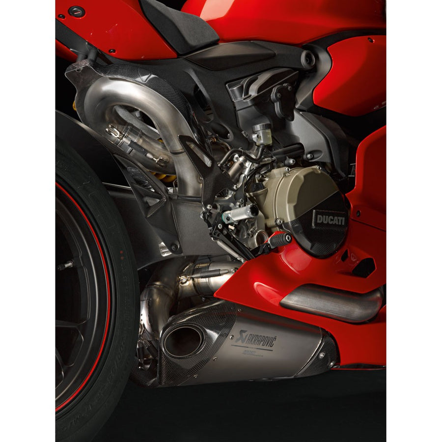 Ducati Panigale 959 1299 Akrapovic Evolution Complete Exhaust System I Seacoast Sport Cycle