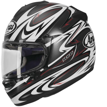 Arai DT-X Full Face Helmet Torrent Black Frost Graphic Small