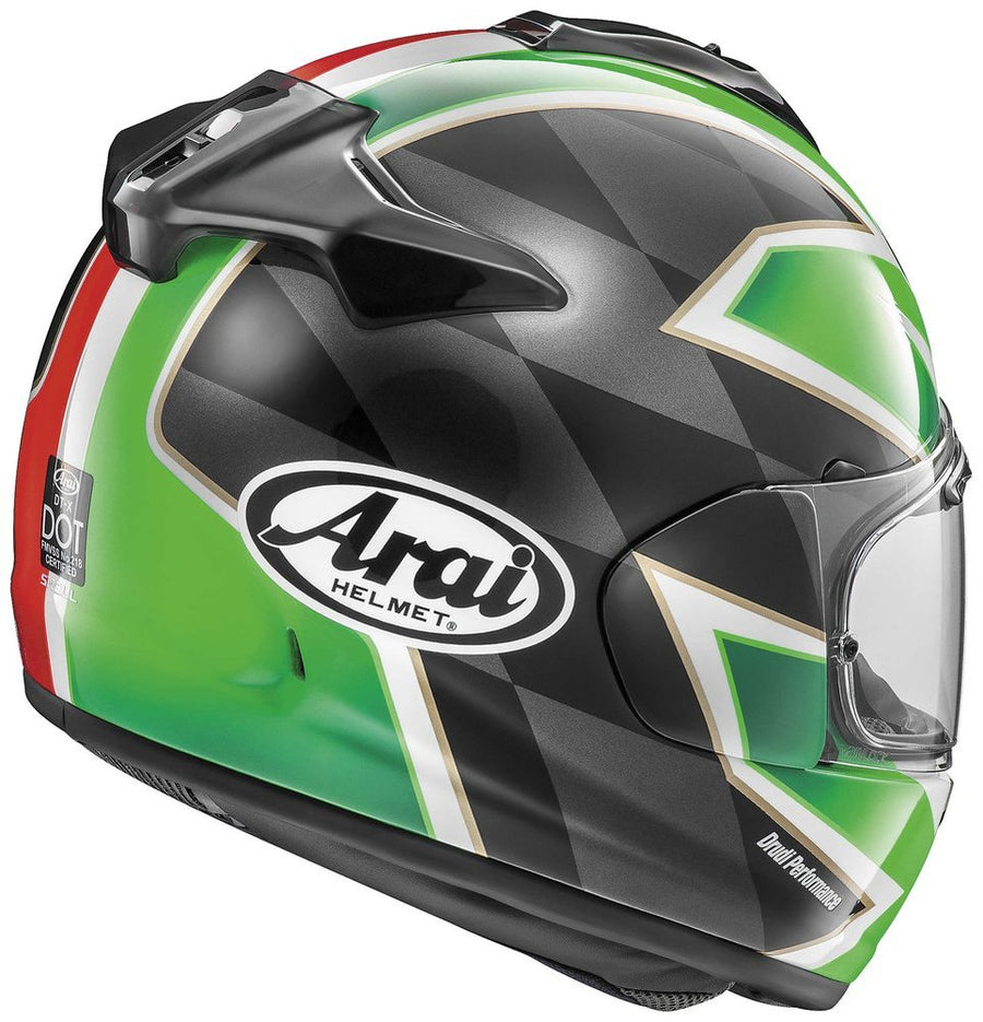 Arai DT-X Full Face Helmet Italy Flag Graphic X-Large