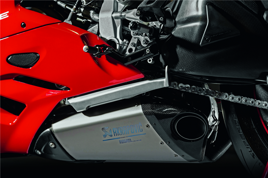 Ducati Corse Titanium Racing Silencer by Akrapovic 959 Panigale (96481081A)