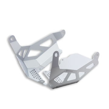 Ducati Multistrada V4 Aluminum Lower Engine Guard Plate (97381191AA)