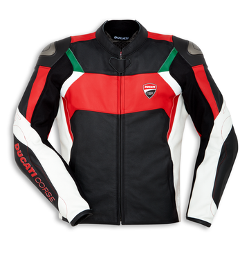 Ducati Corse C3 Leather Perforated Jacket