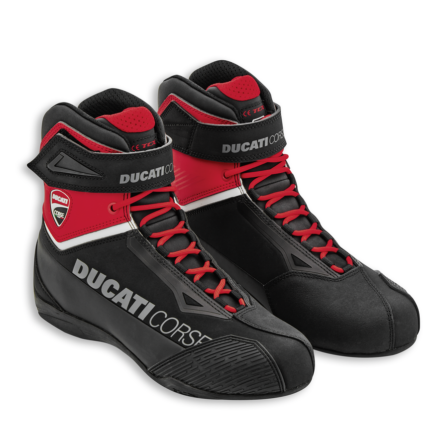 Ducati Corse City C2 Technical Short Motorcycle Boots