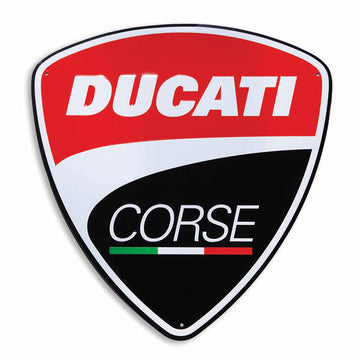 Ducati Corse Metal Wall Sign