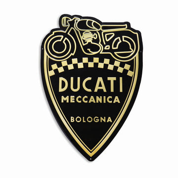 Ducati Meccanica Shield Metal Wall Sign (987691018)