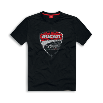 Ducati Corse Graphic Sketch Short Sleeve T-Shirt