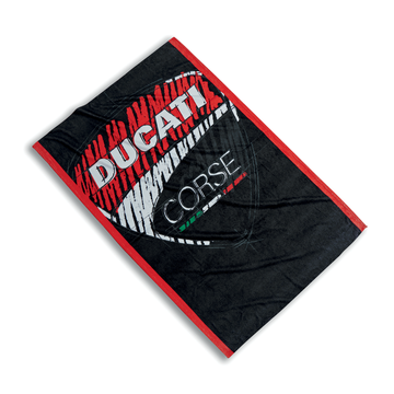 Ducati Corse Graphic Sketch Logo Beach Towel