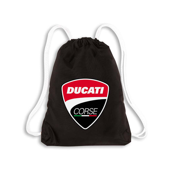 Ducati Corse Packable Gym Drawstring Sack