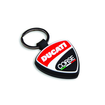 Ducati Corse DC Shield Key Chain