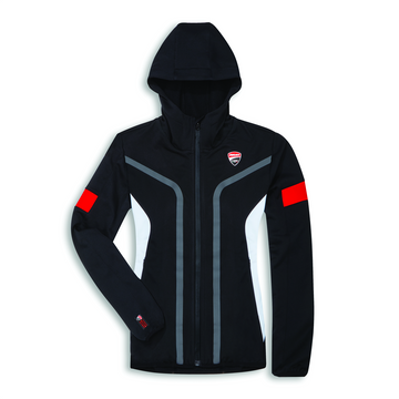 Ducati Womens Corse 19 DC Power Hooded Full-Zip Sweatshirt
