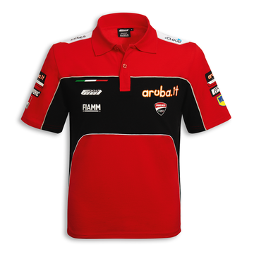 Ducati Corse SBK 19 Team Replica Short Sleeve Polo