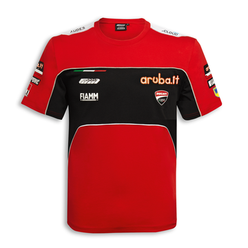 Ducati Corse SBK 19 Team Replica Short Sleeve T-Shirt