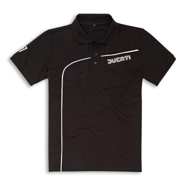Ducati 77 Retro Short Sleeve Polo Shirt