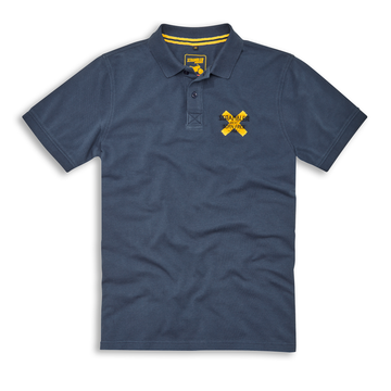 Ducati Scrambler Born Free Short Sleeve Polo Shirt