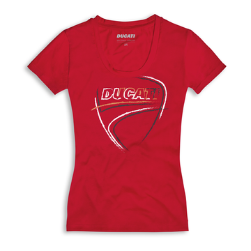 Ducati Women's Heart Beat Short Sleeve T-Shirt