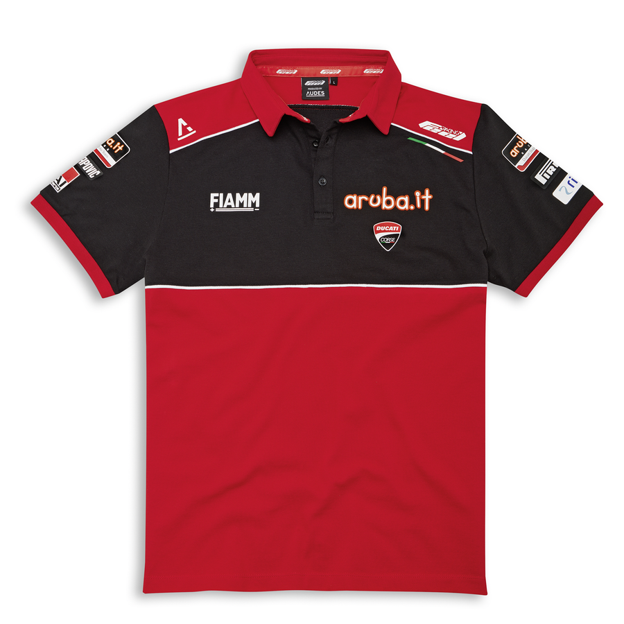 Ducati Corse SBK 20 Team Replica Short Sleeve Polo