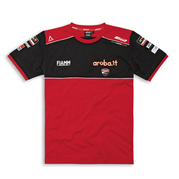 Men's Ducati Corse SBK 20 Team Replica Short Sleeve T-Shirt
