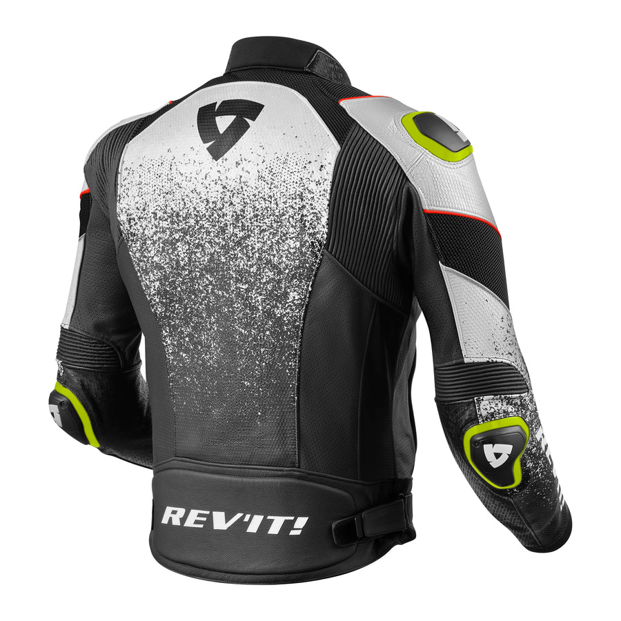 REV'IT! Quantum Air Perforated Leather Motorcycle Jacket