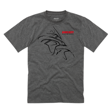 Ducati Multistrada Journey Graphic Short Sleeve T-Shirt