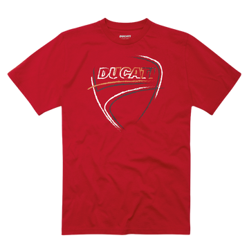 Ducati Heartbeat Graphic Short Sleeve T-Shirt