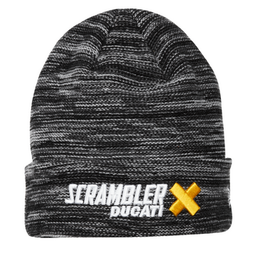 Ducati Scrambler Cross Knit Beanie by New ERA