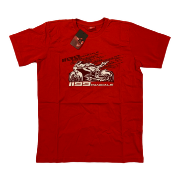 Ducati 1199 Panigale Graphic Short Sleeve T-Shirt