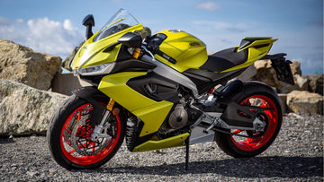 2021 Aprilia RS 660 Acid Gold