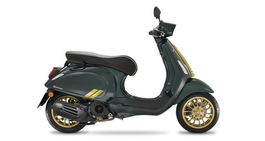 2021 Vespa Sprint 50 Racing Sixties Green