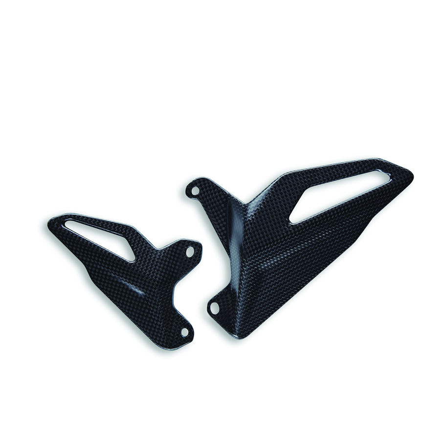 Ducati Panigale & Streetfighter V4 Carbon Fiber Heel Guards (96981061A)