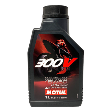 Motul 300V Factory Line Road Racing 15W50 Liter