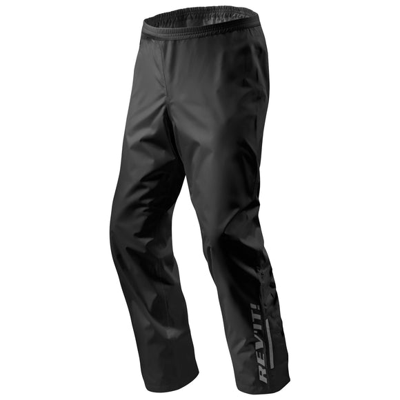 REV'IT! Acid H2O Rain Motorcycle Pants Black