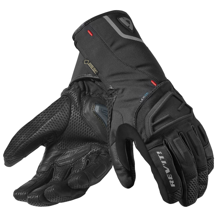 REV'IT! Borealis GTX Motorcycle Gloves Black