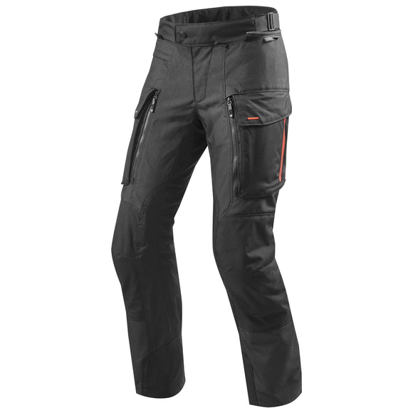 REV'IT! Sand 3 Trouser Motorcycle Pants Black Standard Length