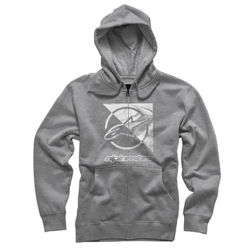 Alpinestars Rift Zip Hooded Sweatshirt Gray