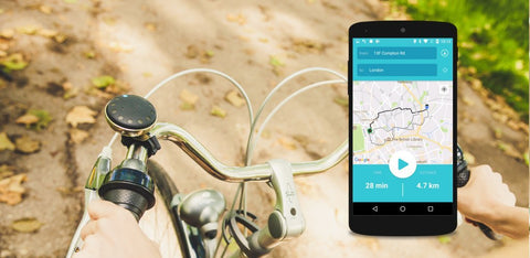 Blubel Android App cycling navigation
