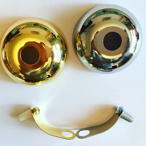 Brass bicycle bells