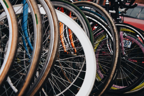 Bicycle wheels and tyres