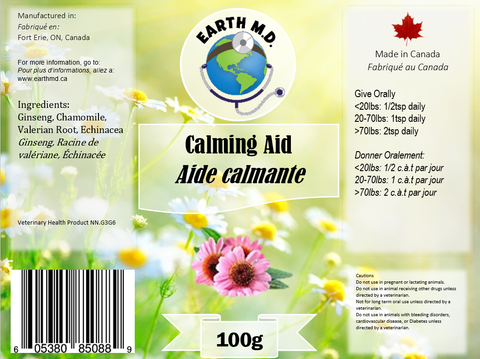 Calming Aid - Earth MD
