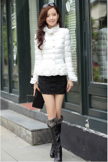 Warm Down Cotton Jacket | Hot Nationals Delhi India Korean Fashion k-pop
