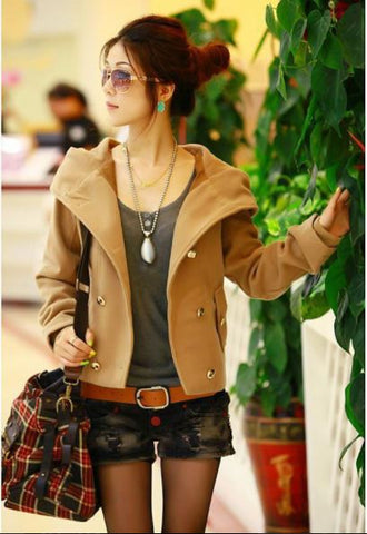 Autumn Collar Fight Jacket
