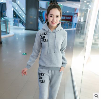 Casual Winter Sweatshirt With trousers | Hot Nationals Delhi India Korean Fashion k-pop