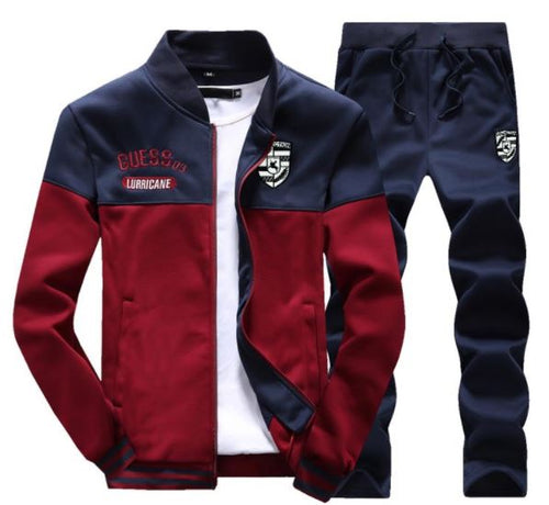 Fall Burst Sports Jacket and Trousers