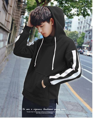 Korean Spring Hooded Jacket