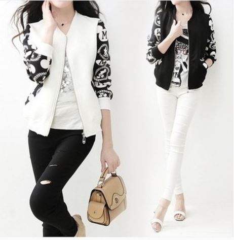 Increase Pattern Spring Jacket