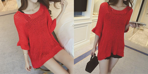 Knitwear Loose Sleeve Sweater