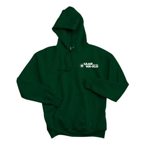 Hooded Sweatshirt with Wa-Klo Logo