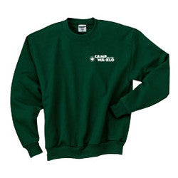 Crewneck Sweatshirt with Wa-Klo Logo