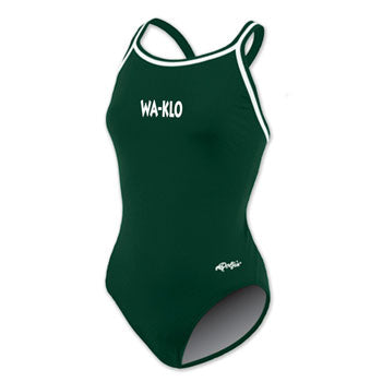 Wa-Klo Green bathing suit