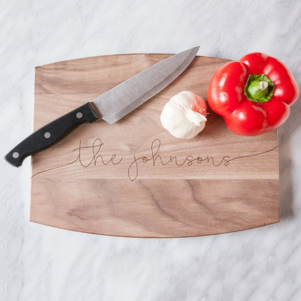 custom cutting board, newlyweds gift, wedding gifts, couples gifts, engraved gifts