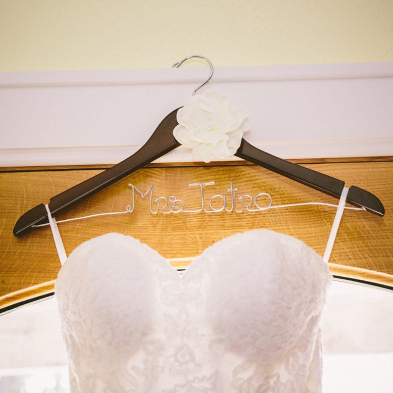 bridal hanger, wedding dress hangers, personalized bridal shower gifts, wedding gifts